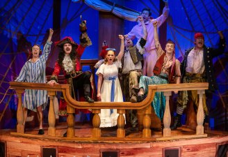 Peter Pan Goes Wrong 2019 Sydney Lyric Theatre